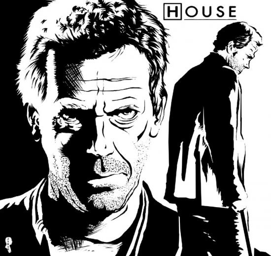 Hugh Laurie by Jarah